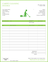 Cleaning Invoice Templates