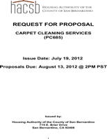 Cleaning Proposal Templates
