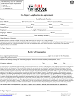 Rental Agreement Letter Templates