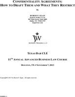Understanding Confidentiality Agreement Templates