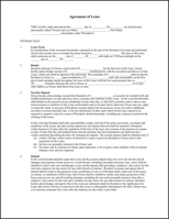 Lease Template