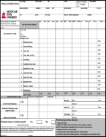 Travel Invoice Templates