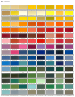 RAL Color Chart