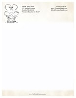 Personalized Letterhead Template