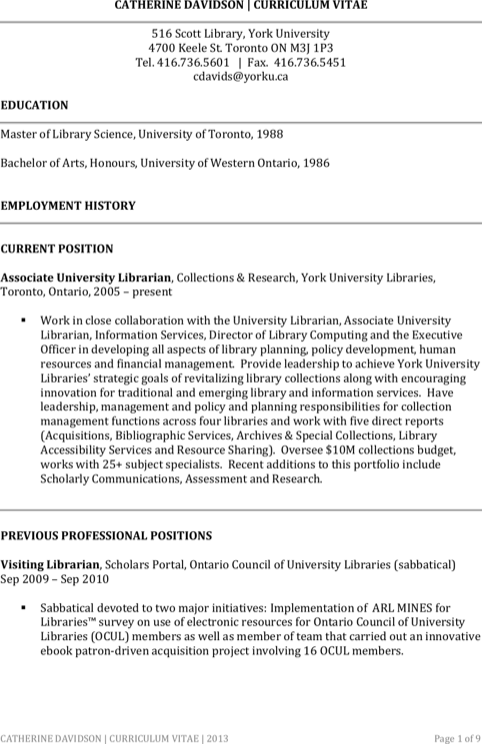 Assistant Librarian Resume