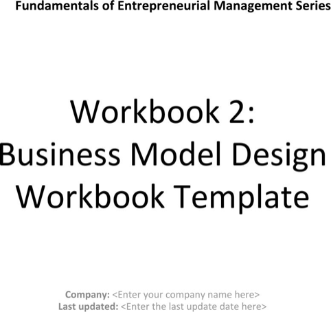 Business Model Process Workbook Template