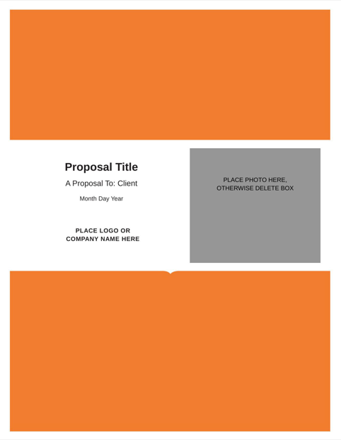Business Proposal Template 1