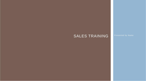 Business Sales Training Presentation