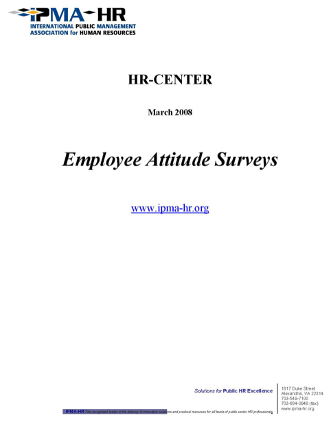 Download Employment Survey for Free  FormTemplate