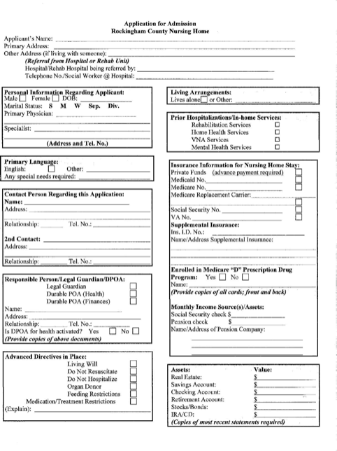 Download New Hampshire Do Not Resuscitate Form For Free Formtemplate