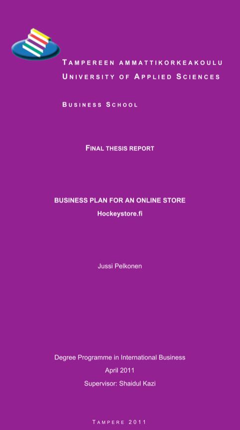 Online Boutique Business Plan