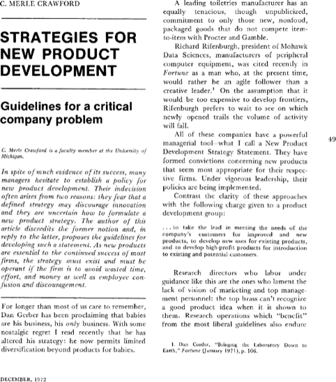 Product Development Strategy Template