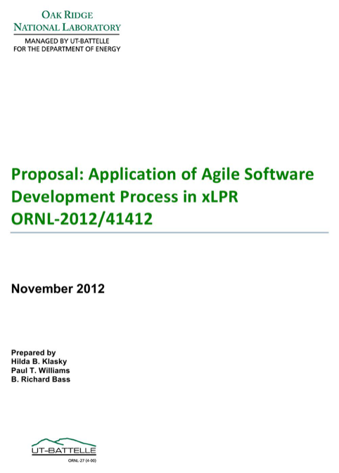 Proposal: Application of Agile Software Development