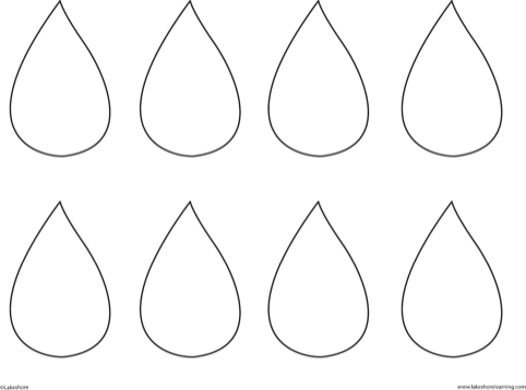 download raindrop template for free formtemplate