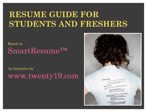 Resume Guide for Students and Freshers