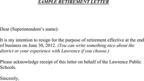 Download retirement letter sample for free formtemplate retirement letter samples thecheapjerseys Images
