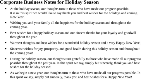 Download greeting message template for free formtemplate sample holiday greetings messages m4hsunfo