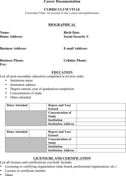 Telephone Lineman Resume Template