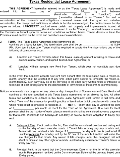 Download North Carolina Rental Agreement For Free Formtemplate