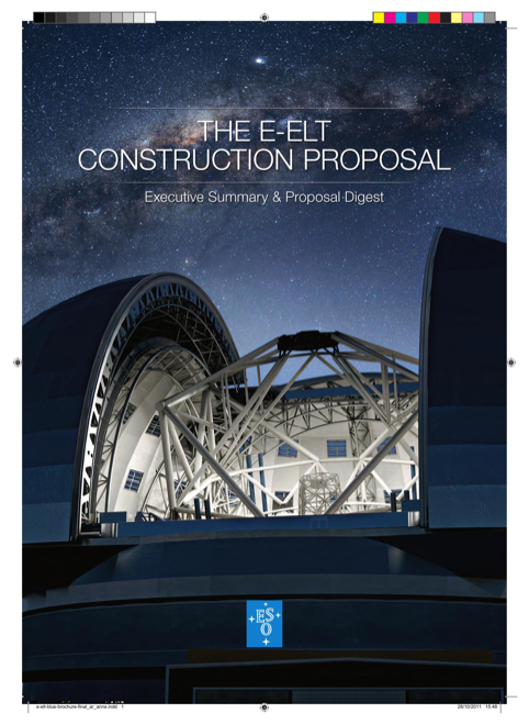 The E-Elt Construction Proposal