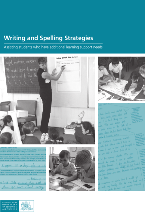 Writing And Spelling Strategies Template