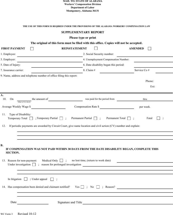 download alabama supplementary report form for free