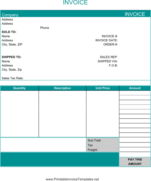 download basic invoice1 for free