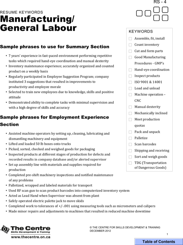 download certified forklift operator resume for free