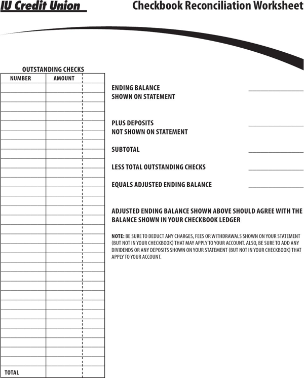 This is an image of Critical Printable Checkbook Balance Sheet