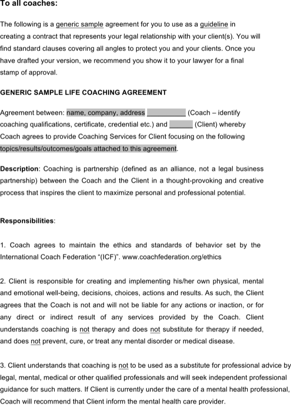 download class files life coaching agreement for free
