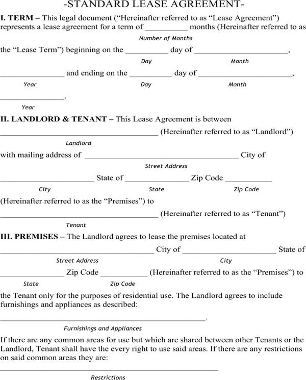 Download Colorado Residential Lease Agreement For Free