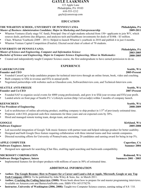download computer science student resume for free