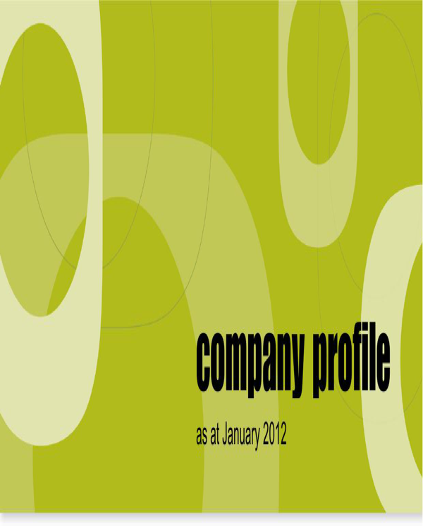 Eco Options Company Profile Sample