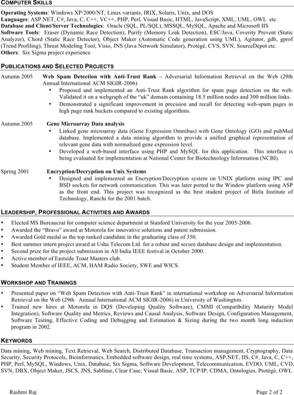download embedded software engineer resume for free
