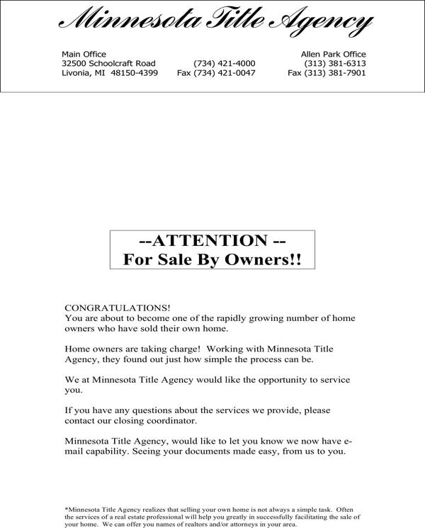 download for sale by owner order form for free page 20 formtemplate. Black Bedroom Furniture Sets. Home Design Ideas