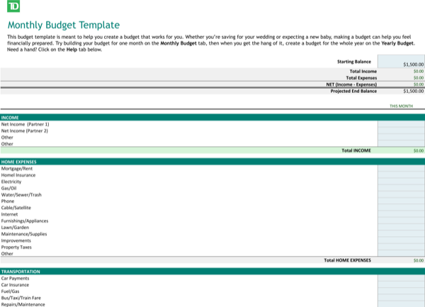 Download Free Yearly Budget Template Download For Free Page 5