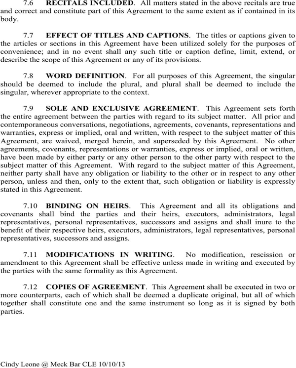 download north carolina agreement sample for free
