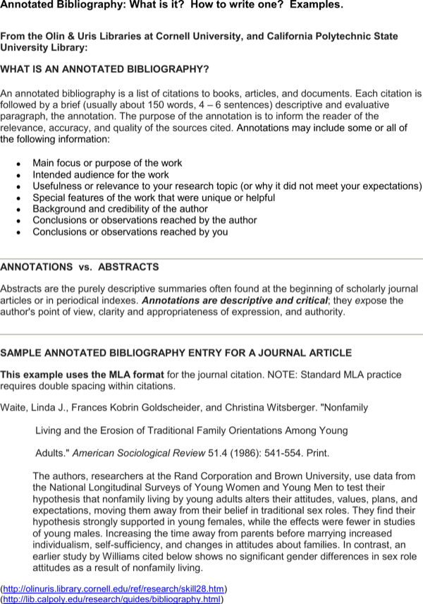 download printable annotated bibliography template for
