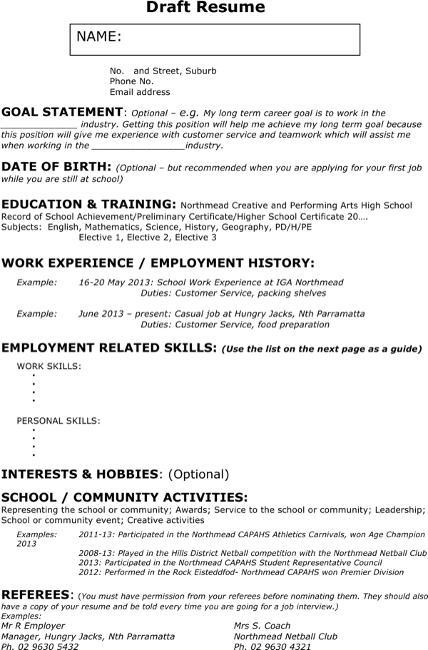 Download Sample Waitress Resume For Free Page 2